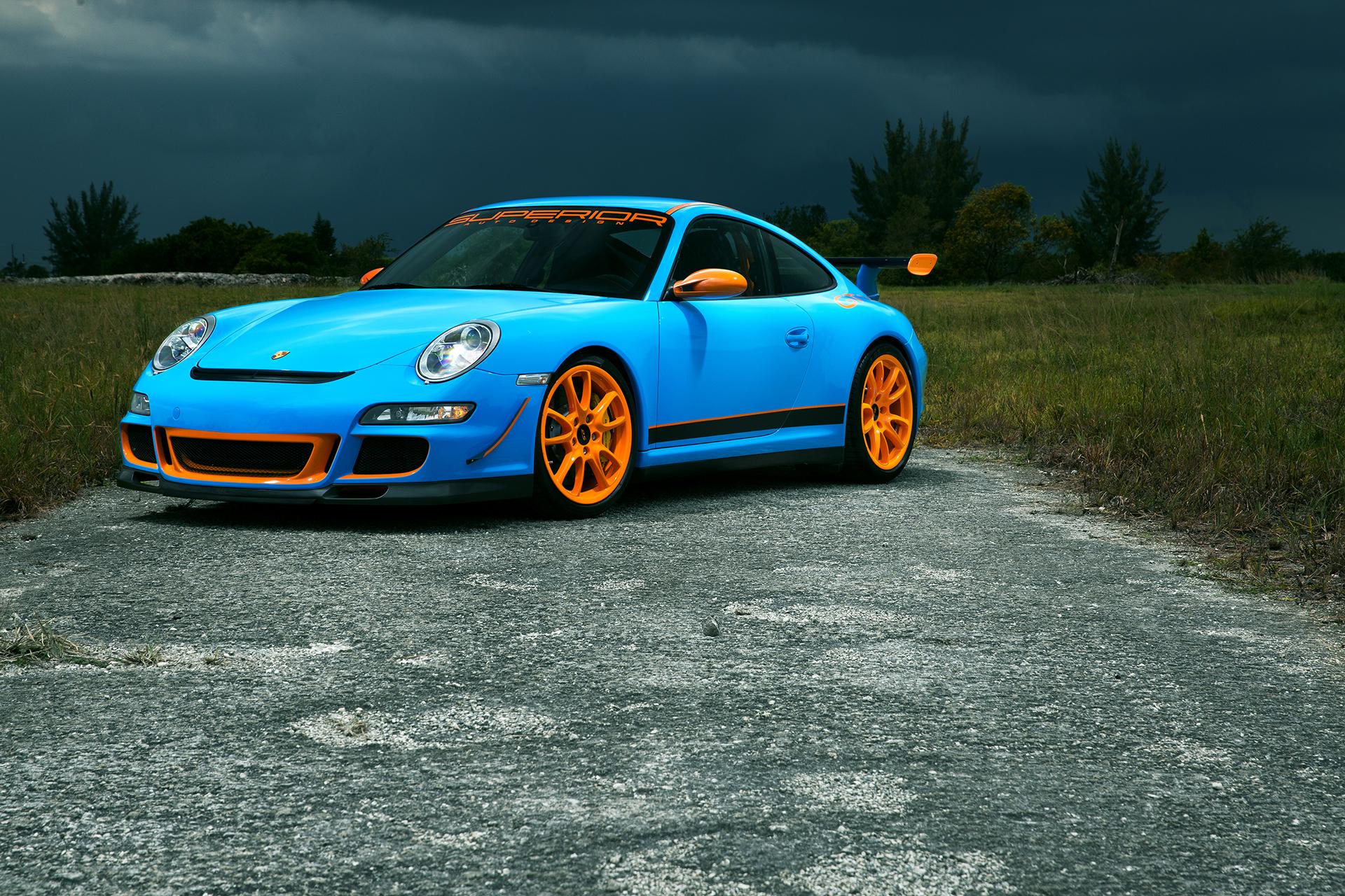 Blue Porsche GT3 2