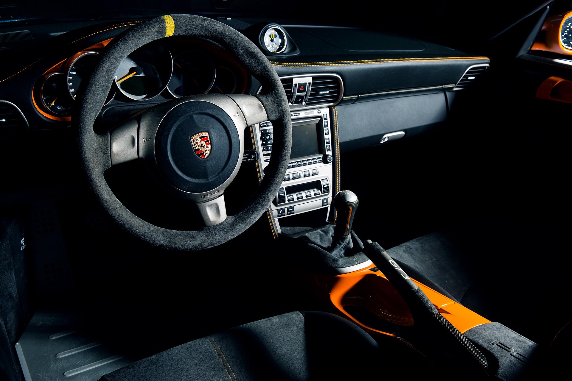 GT3 Interior