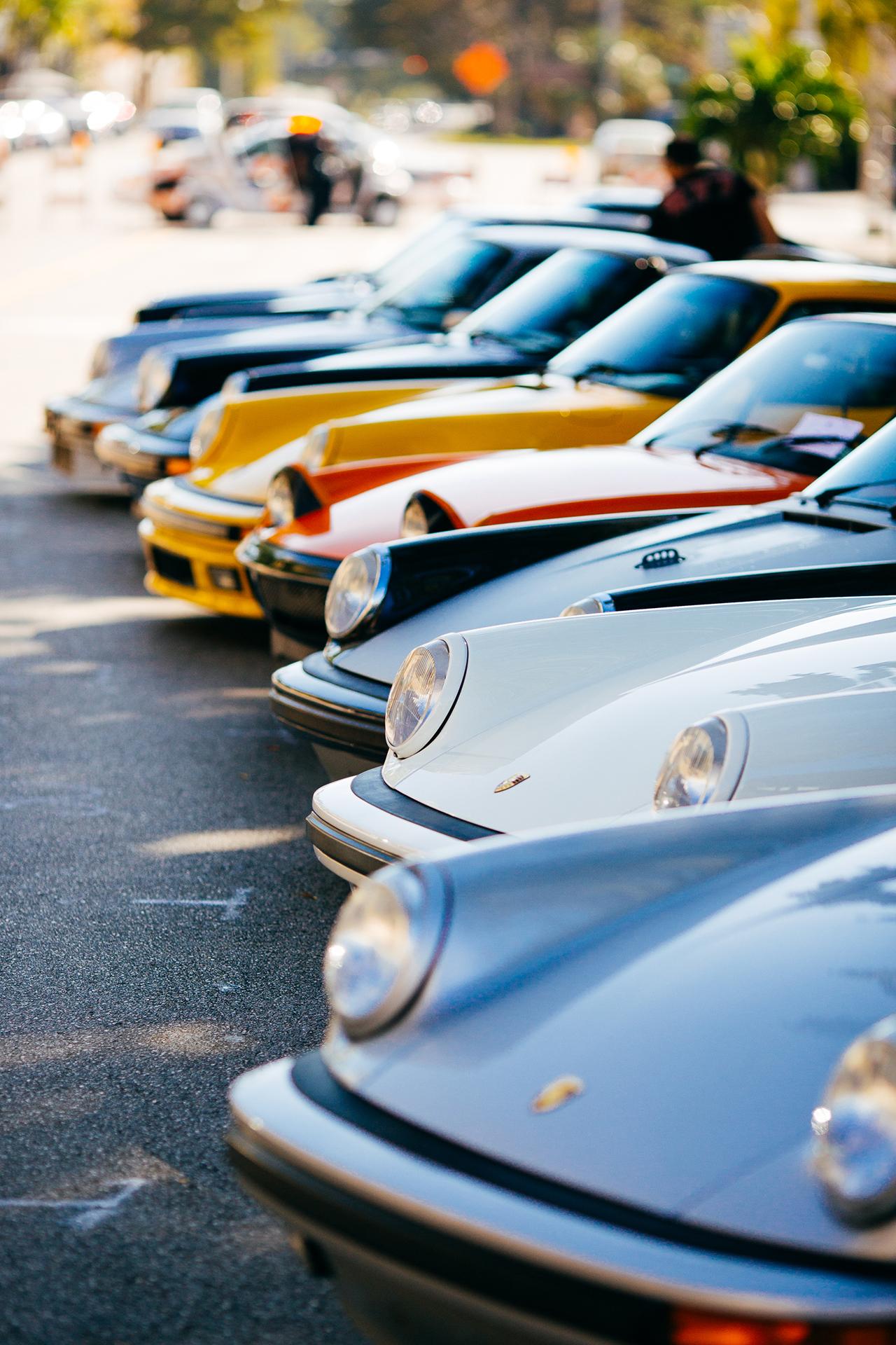 Porsche Front Lineup