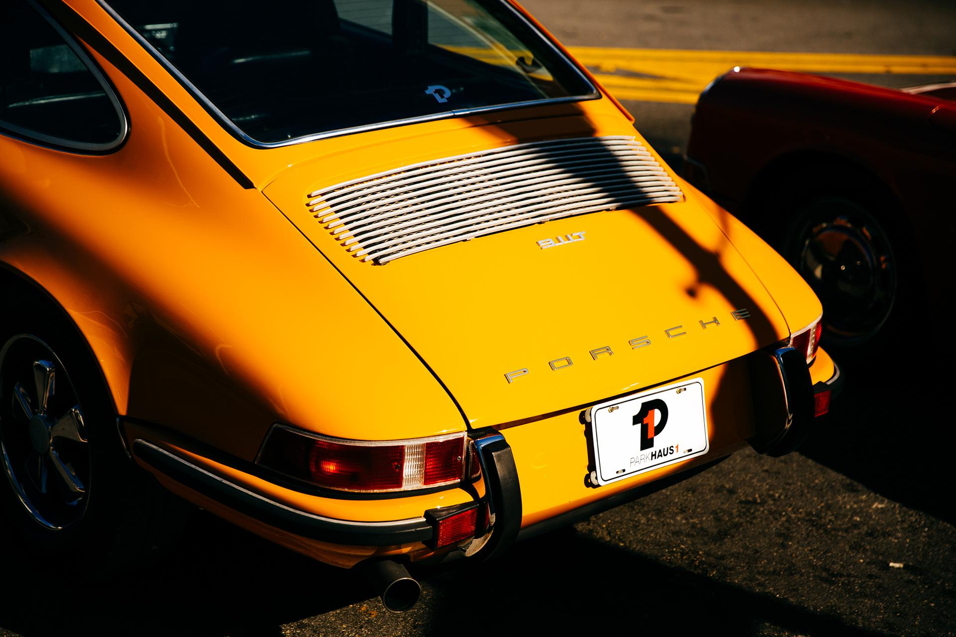 Orange Porsche 5