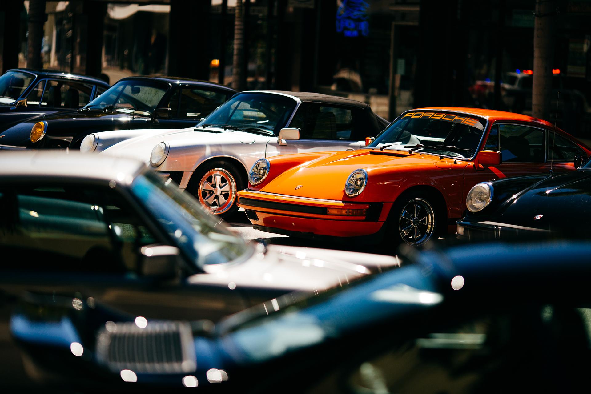 Orange Porsche 4