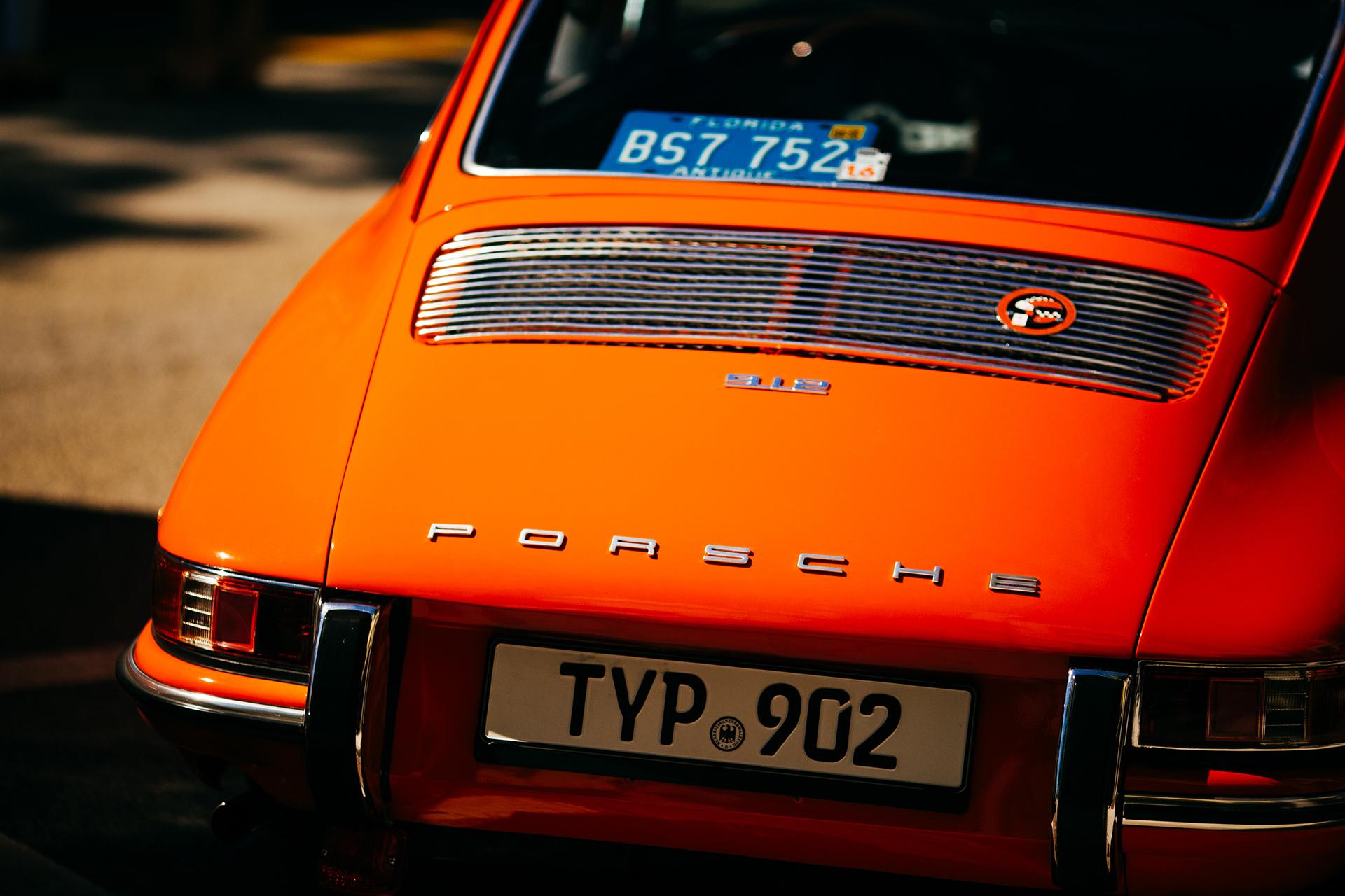 Orange Porsche 3