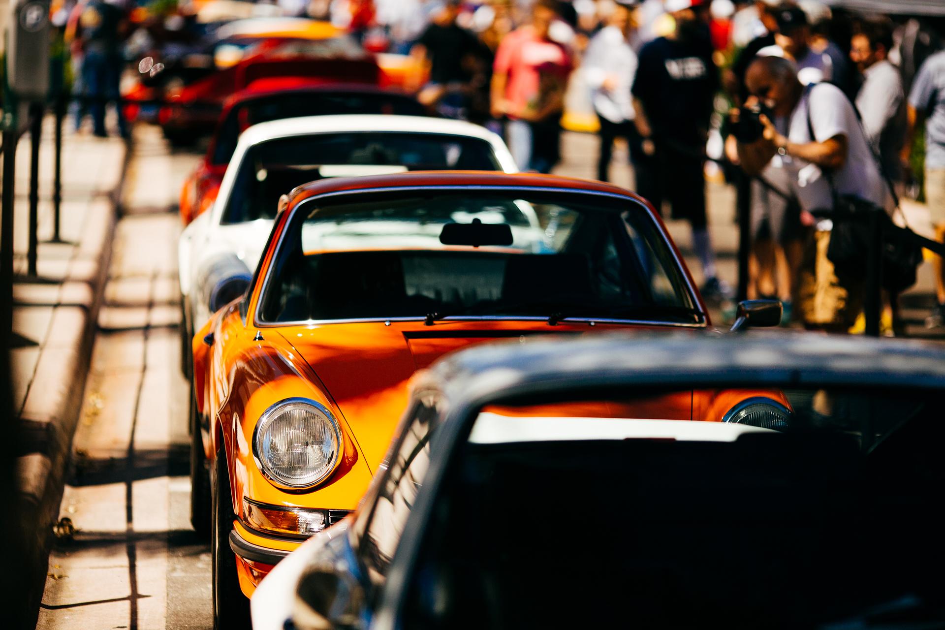 Orange Porsche 2