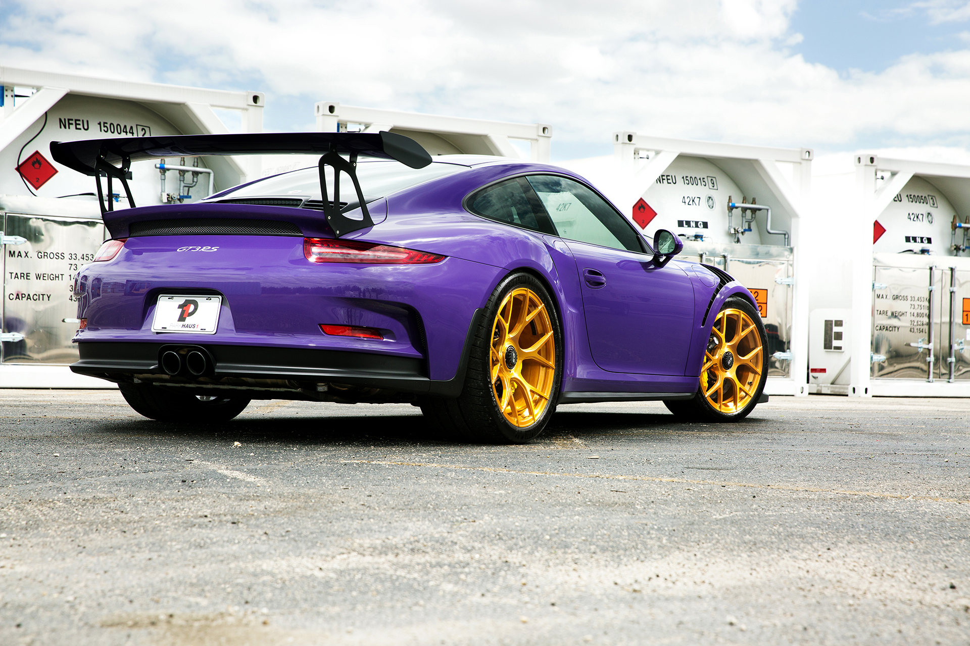 Purple GT3RS