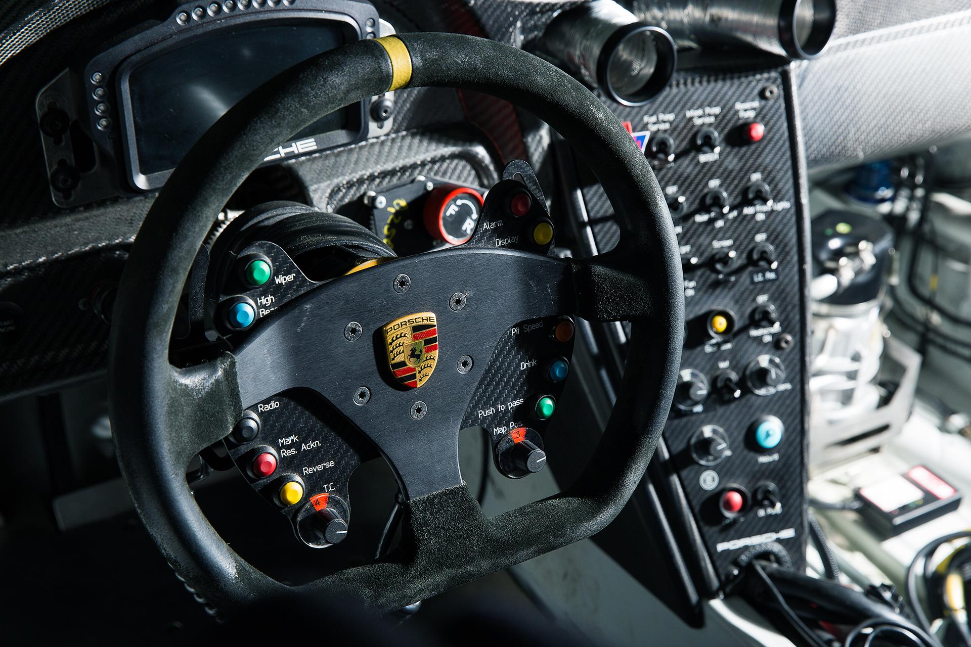 RSR Racecar Interior